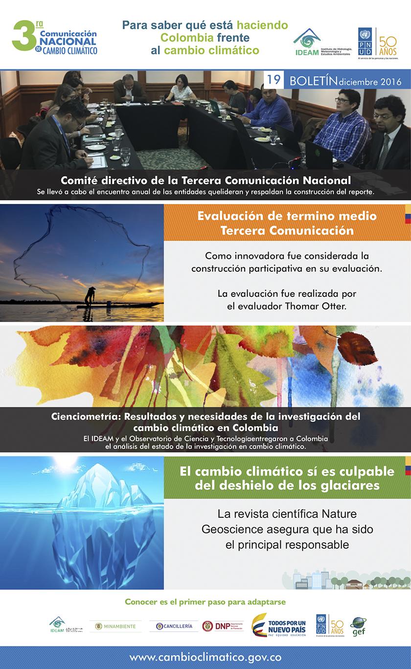 Tercera Comunicación Nacional de Cambio Climático