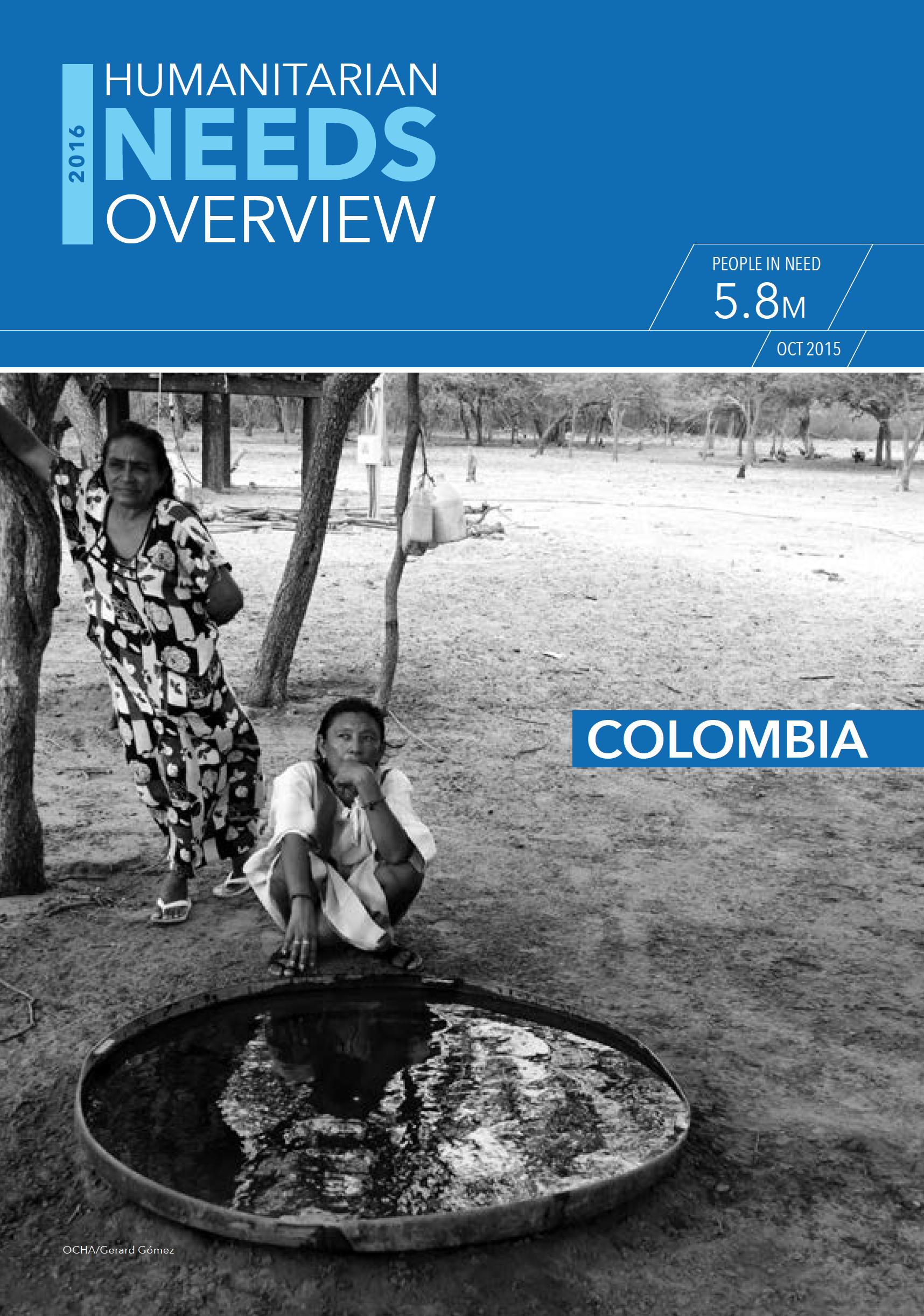 Humanitarian Needs Overview 2016