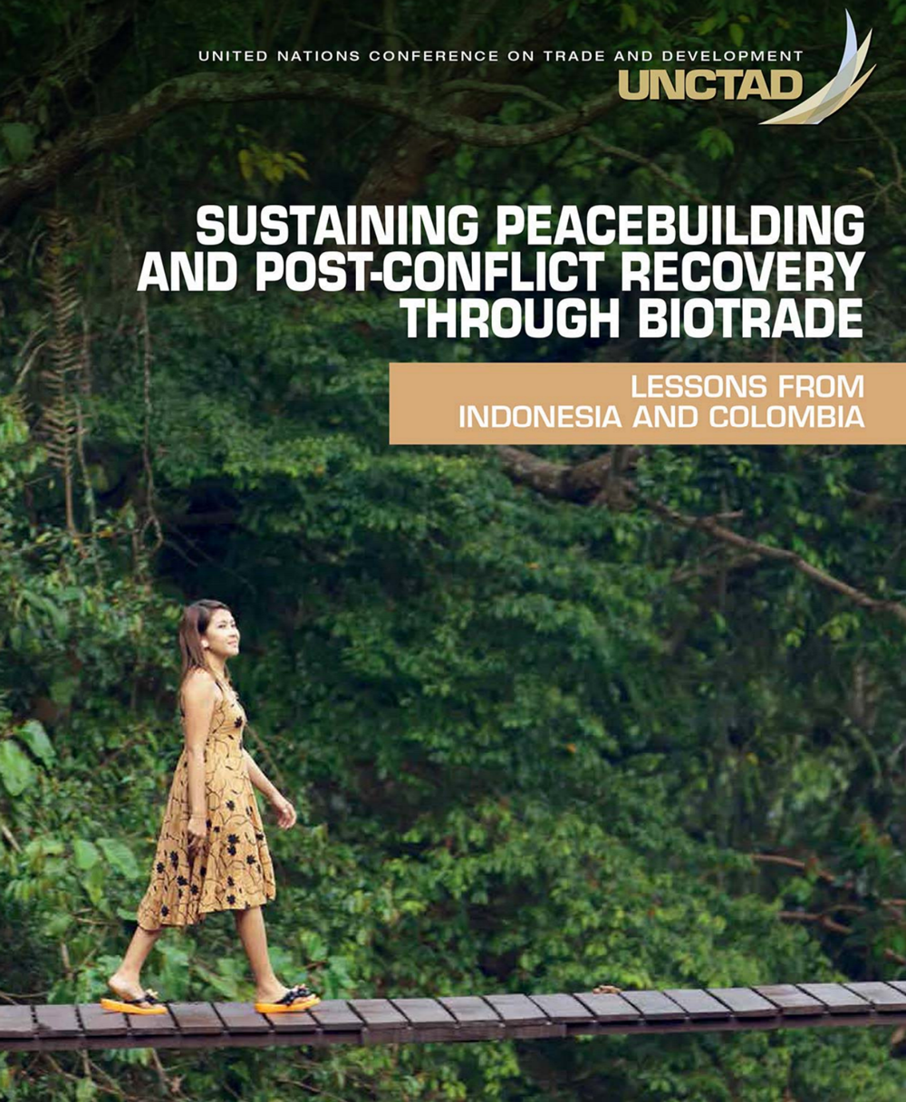 Sustaining peacebuilding and port-conflict recovery through biotrade