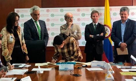 7 millones de dólares para proyectos ambientales desembolsa Fondo Colombia Sostenible