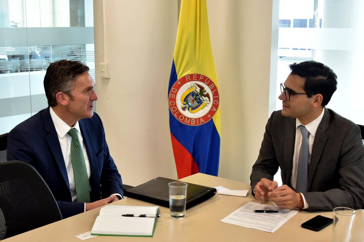 Reunión con el Director de Misión USAID/Colombia, Lawrence Sacks