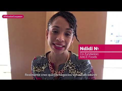 Ndidi Nwuneli - Co-fundadora y drectora de AACE...