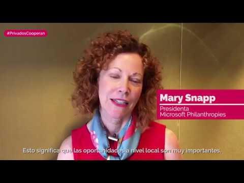 Mary Snapp - Presidenta de Microsoft...